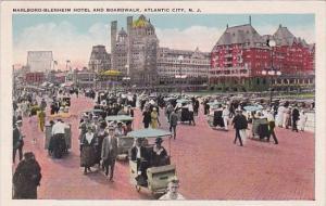 New Jersey Atlantic City Marlboro Blenheim Hotel And Boardwalk