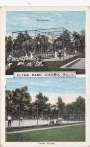 Illinois Cicero Clyde Park Playground and Tennis Courts