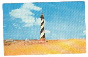Lighthouse , Cape Hateras Island , North Carolina , PU-1964