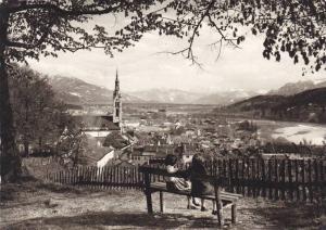RP, Blick V. Kalvarienberg Auf Isar Und Tiroler Alpen, Bad Tölz (Bavaria), G...