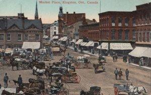 HAMILTON, Ontario, Canada, 1900-1910s; The Market
