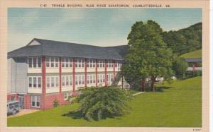 Virginia Charlottesville Trinkle Building Blue Ridge Sanitarium