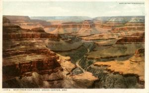 AZ - Grand Canyon National Park. West from Hopi Point