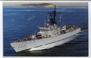 Contratorpedeiro Parana D-29 Brazilian Navy Ship Brazil postcard