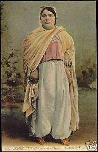 Jewish Woman, Juives Costumes (1910s) JUDAICA, L.L.