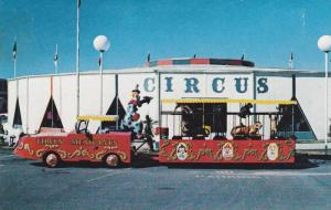 Exterior View of The Circus, Clown, Animal Cage, South of the Border, N.C.-S....