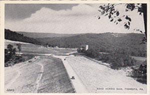 Pennsylvania Tionesta Road Across Dam Dexter Press