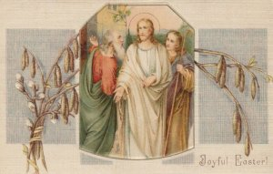 Joyful EASTER, 1900-10s; Jesus talking to shepherds