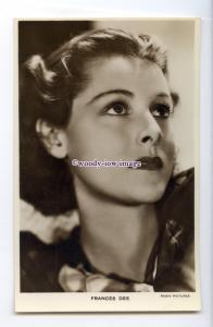 b5764 - Film Actress - Frances Dee - Radio Pictures - postcard