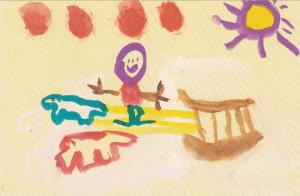 Artwork From Indians Kids (Tony Etunga - Age 6), Expo 86, Northwest Territori...