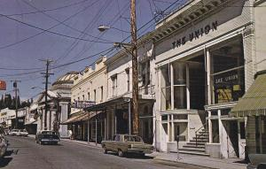 Main Street , GRASS VALLEY , California , 50-60s #2