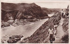 RP: JERSEY, United Kingdom, PU-1950; Coastal Scene
