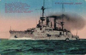 Nautica SMS Linienschiff Wettin Battle Ship 03.86