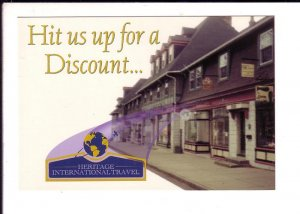 Heritage International Travel, Halifax, Nova Scotia, Advertising, Discount