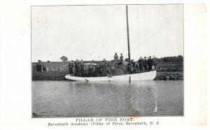 17491  NJ Zarephath  Pillat of Fire Sailboat