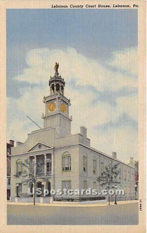 Lebanon County Court House - Pennsylvania