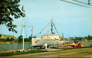 Michigan Grand Haven U S Coast Guard Cutter Mackinaw