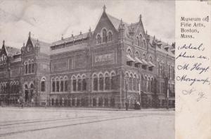 BOSTON, Massachusetts; Museum of Fine Arts, PU-1907