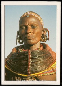 Samburu - Woman in Tribal Costume