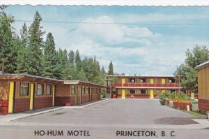 PRINCETON, British Columbia, Canada, 1940-1960's; The Ho-Hum Motel