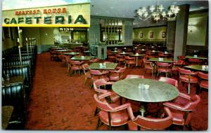 Chicago IL Postcard HARVEST HOUSE CAFETERIA Restaurant Roadside c1960s Unused