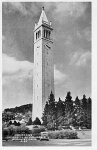 CA - Berkeley, Campanile, University of California