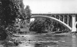 Cornwell CT Old & New Covered Bridge Eastern Illustrating Salesman Sample