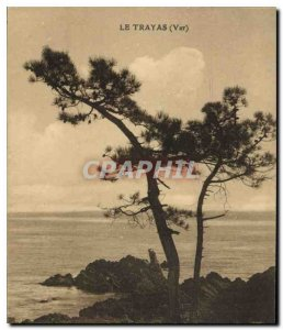 Postcard Old Trayas Var