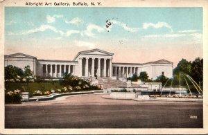 New York Buffalo Albright Art Gallery 1920