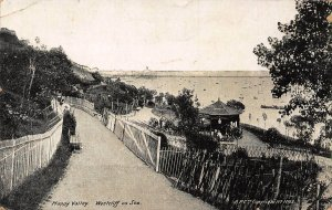 Westcliff on Sea Happy Valley Promenade Panorama Postcard