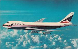 Fly DELTA's 747 Superjets, 1960s