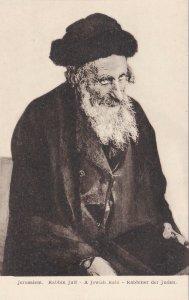 Israel Jerusalem Rabbin Juit A Jewish Rabi sk4699