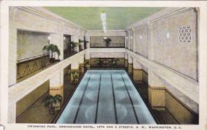 Washington DC Swimming Pool Ambassador Hotel