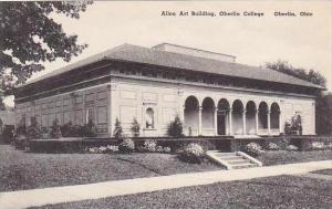 Ohio Oberlin Allen Art Building Oberlin College Albertype
