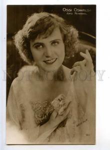 243650 Ossi OSWALDA German Silent MOVIE FILM Actress Old PHOTO