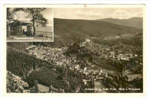 RP, Blick v. Trippstein, Trippsteinhauschen, Schwarzburg (Thuringia), Germany...