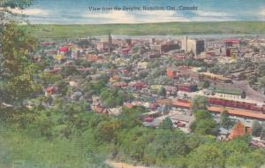 View from the Heights, Hamilton, Ontario, Canada, 1930-40s