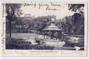 Congress Park, Saratoga Springs NY