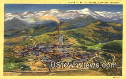 ACM Co Smelter Anaconda MT Unused