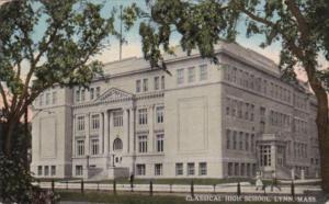 Massachusetts Lynn Classical High School 1913 Curteich