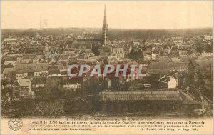 Old Postcard Nivelles Overview decision Mont Roch