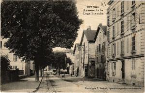 CPA ÉPINAL Avenue de la Loge Blanche (405581)