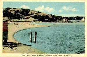 Canada - Nova Scotia, Yarmouth. John's Cove Beach, Markland
