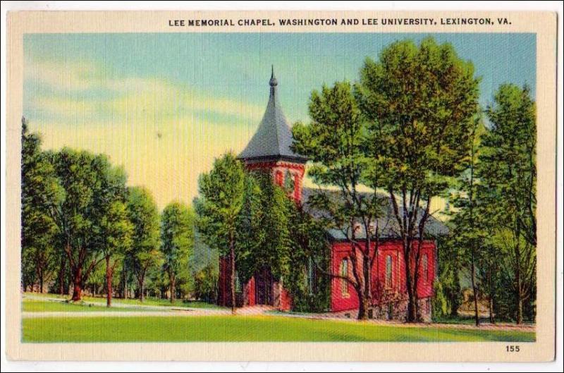 Lee Memorial Chapel, Washington & Lee Univ. Lexington VA