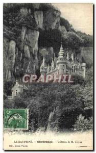 Old Postcard The Dauphine Sassenage Chateau M Terray