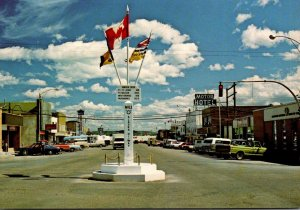 Canada British Columbia Dawson Creek Mile Zero Of The Alaska Highway