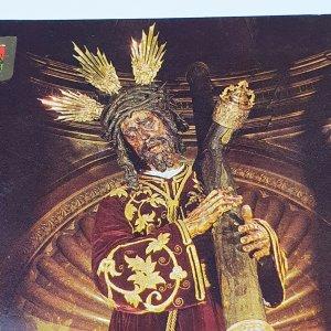 Vintage Collectible Post Card No.150 Sevilla Cristo del Gran Poder