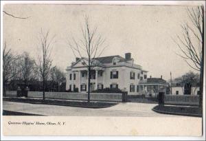 Gov Higgins Home, Olean NY