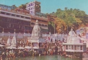 Har Ki Padhi Hardwar India Postcard