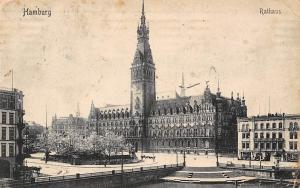 Hamburg Rathaus Town Hall Street View